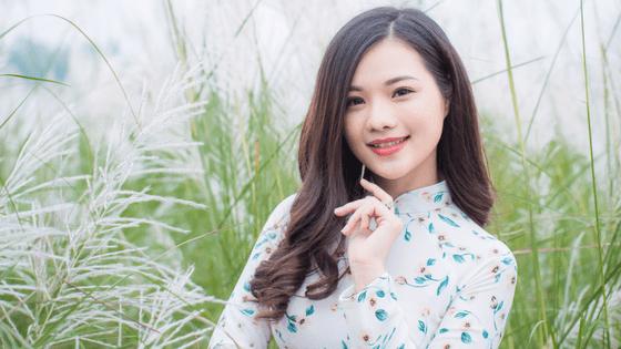 a woman from Chengdu, China